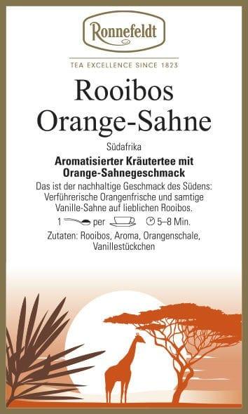 Rooibos Orange Sahne