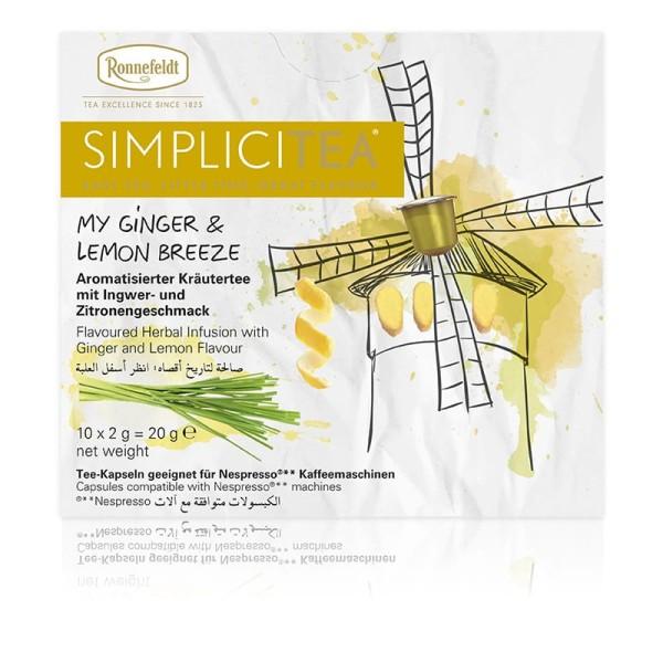 Simplicitea - my ginger & lemon breeze