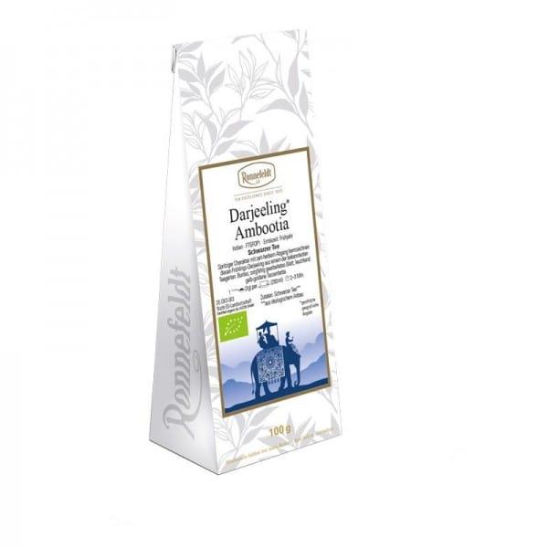 Darjeeling Ambootia Bio schwarzer Tee aus Indien 100g