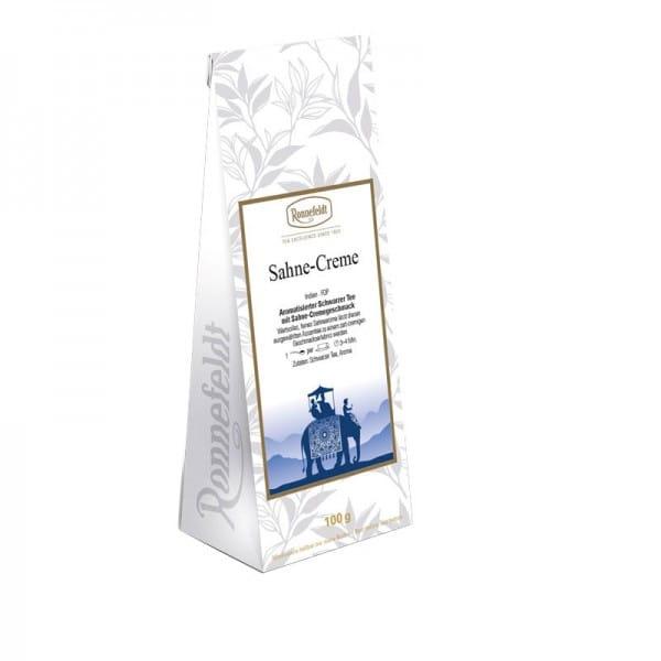 Sahne-Creme aromatisierter schwarzer Tee 100g