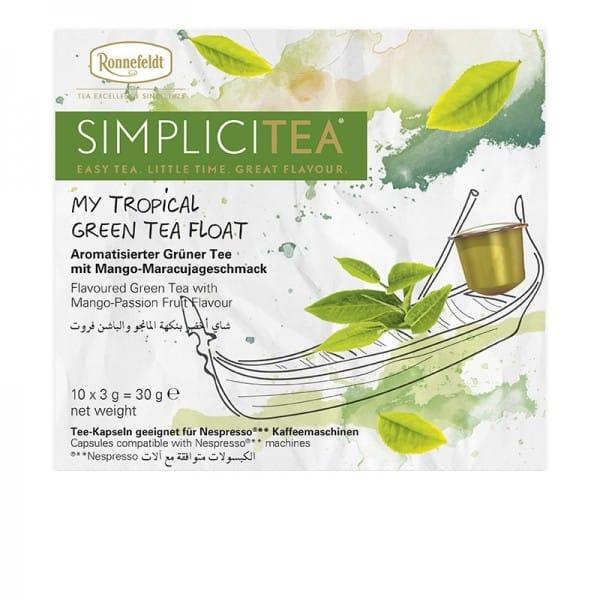 Simplicitea - my tropical green tea float aromat. grüner Tee 10x3g