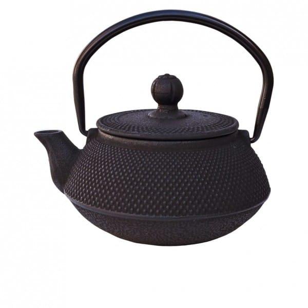 Ronnefeldt Guss-Teekanne ARARE für 0,5 Liter in schwarz