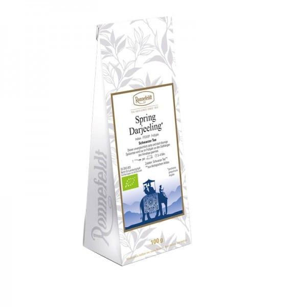 Spring Darjeeling Bio schwarzer Tee aus Indien 100g