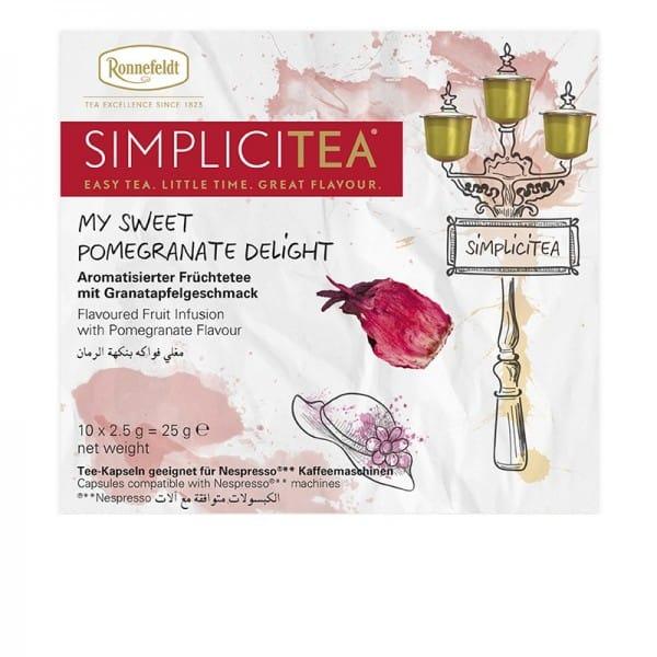 Simplicitea - my sweet Pomegranate delight aromat. Früchtetee 10x2,5g