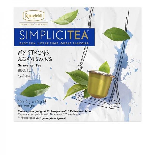 Simplicitea - my strong Assam swing schwarzer Tee 10x4g