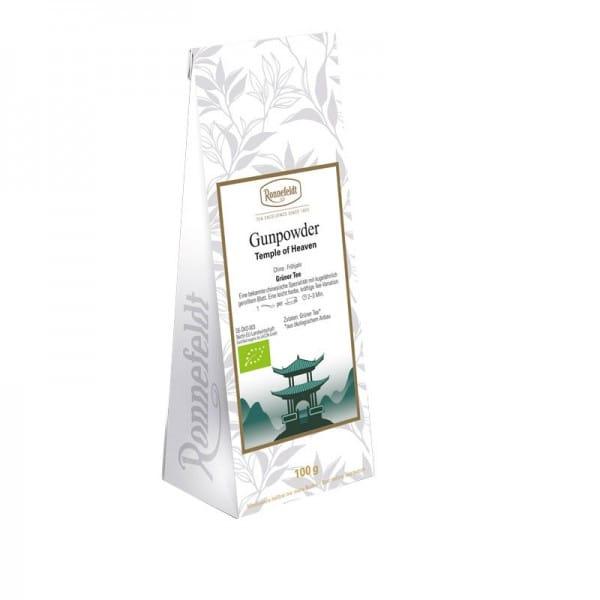 Gunpowder Bio grüner Tee aus China 100g