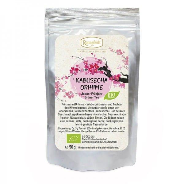 Kabusecha Orihime Bio grüner Tee aus Japan 50g