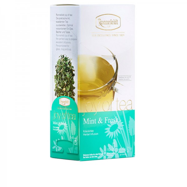 Mint & Fresh - Teabag - whole leaf
