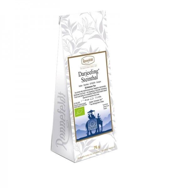 Darjeeling Steinthal Bio schwarzer Tee aus Indien 75g