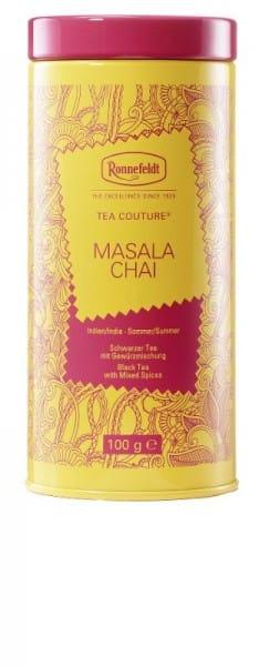 Tea Couture Masala Chai schwarzer Tee mit Gewürzen 100g