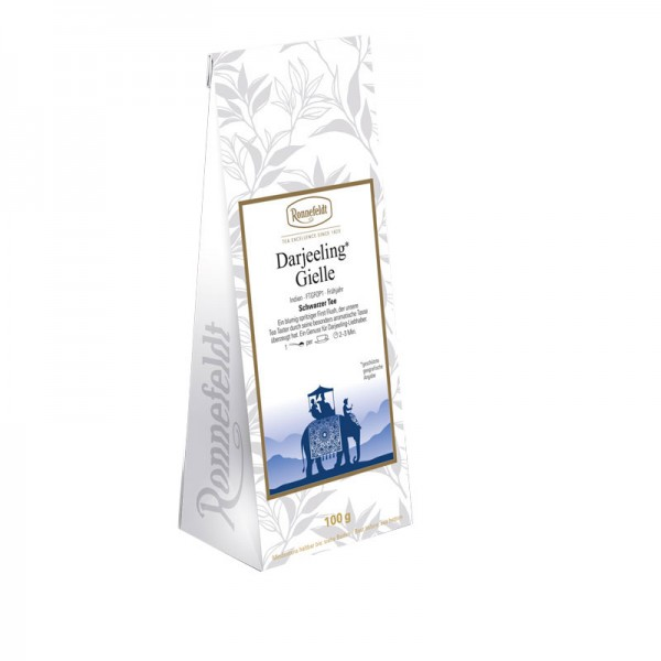 Darjeeling Gielle schwarzer Tee aus Indien 100g