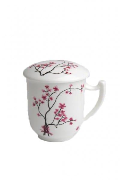TeaLogic Herbal Tea Cup Cherry Blossom