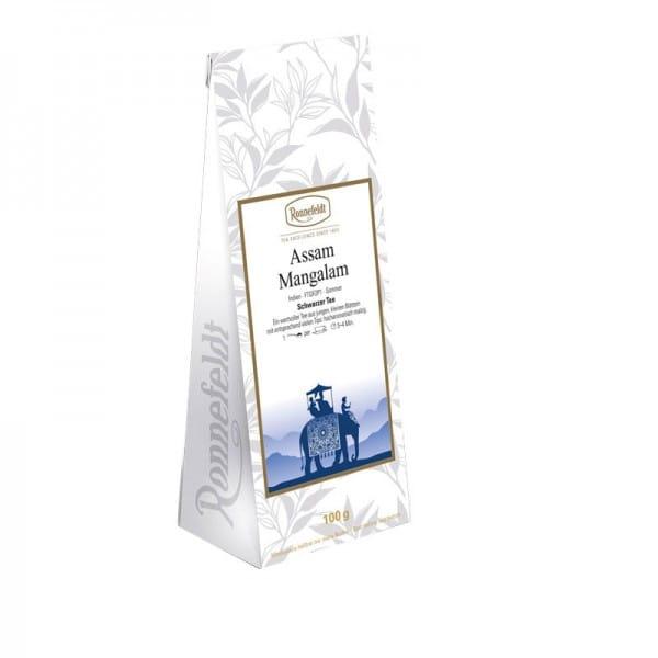 Assam Mangalam schwarzer Tee aus Indien 100g
