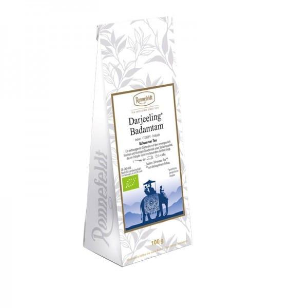 Darjeeling Badamtam Bio schwarzer Tee aus Indien 100g