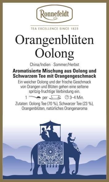 Orangenblüten Oolong