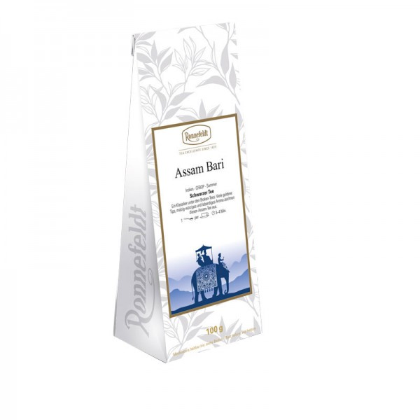 Assam Bari schwarzer Tee aus Indien 100g