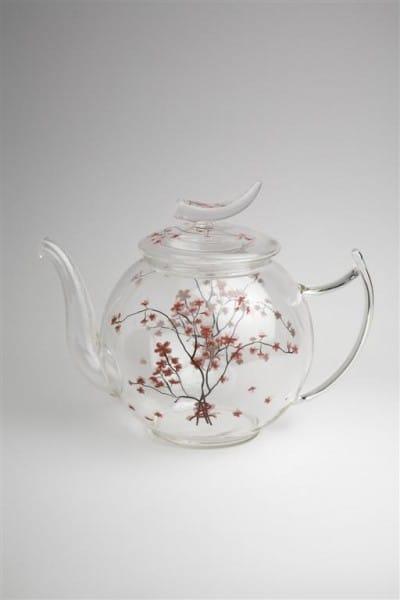 4-TeaLogic Teekanne Glas Cherry Blossom-4260132978721