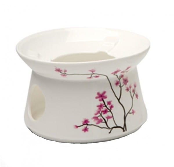 Stövchen Cherry Blossom für 0,4l Teekanne