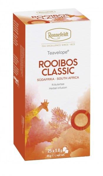 Teavelope Rooibos Classic Kräutertee 25 Teebeutel 45g