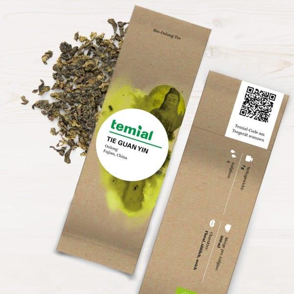Tie Guan Yin Bio grüner Tee 70g