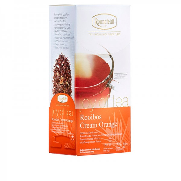 Rooibos Cream Orange - Teabag - whole leaf