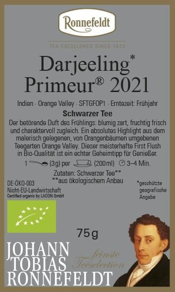 Darjeeling Primeur 2018 Organic