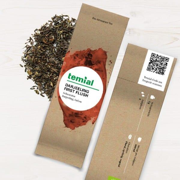 Darjeeling First Flush Bio schwarzer Tee 70g