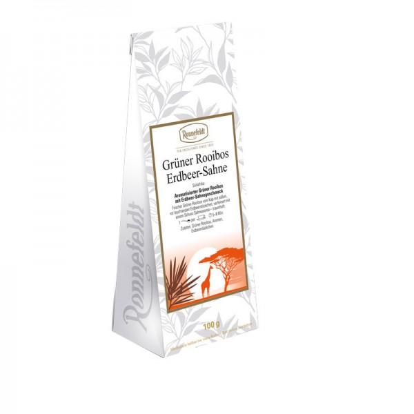 Green Rooibos Strawberry Cream