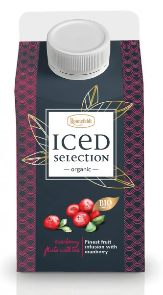 Iced Selection Cranberry to-go 500ml