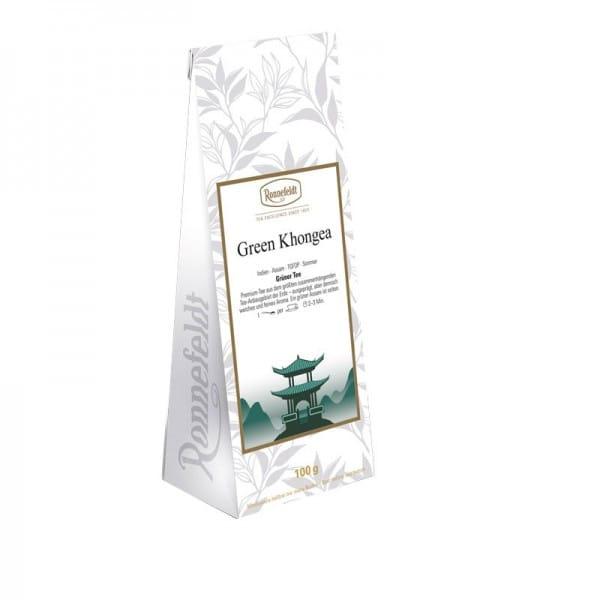 Green Khongea grünter Tee aus Indien 100g