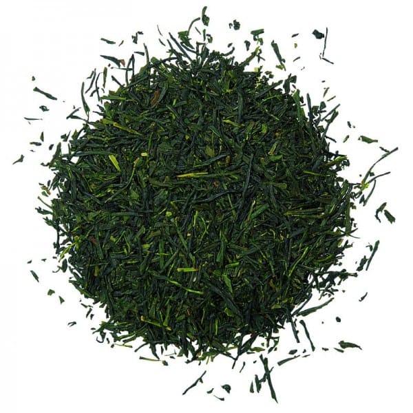 Dunkel grünes Teeblatt Nadelförmig