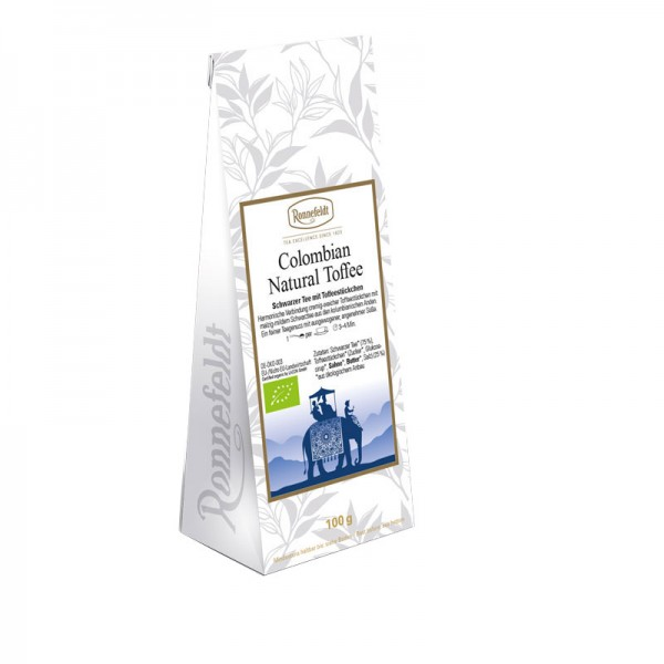 Colombian Natural Toffee Bio