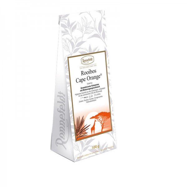 Rooibos Cape Orange aromatisierter Kräutertee 100g