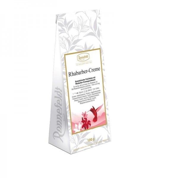 Rhabarber-Creme aromatisierter Früchtetee 100g