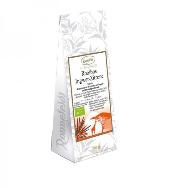 Rooibos Ginger-Lemon Organic