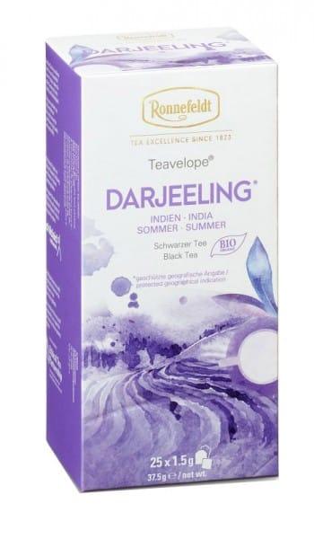 Teavelope Darjeeling Bio schwarzer Tee 25 Teebeutel 37,5g