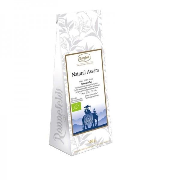 Natural Assam Bio schwarzer Tee 100g