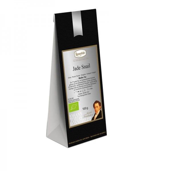 Jade Snail Bio weißer Tee aus China 100g
