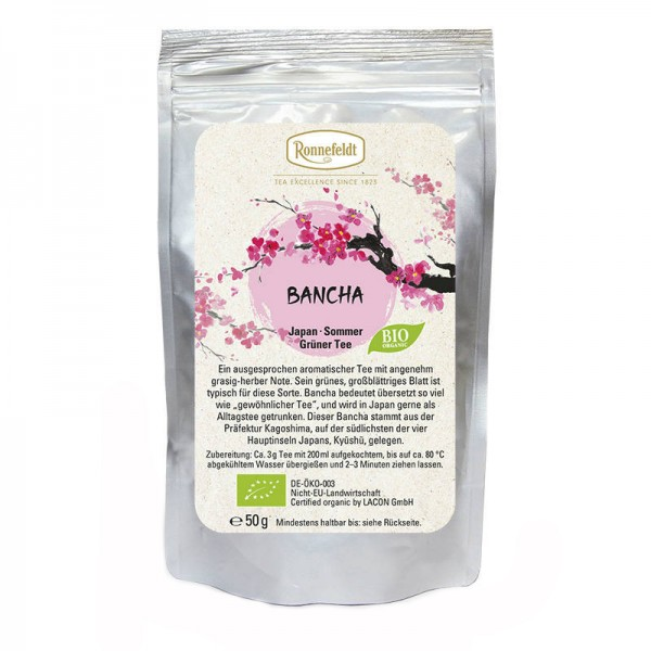Bancha Bio grüner Tee aus Japan 50g