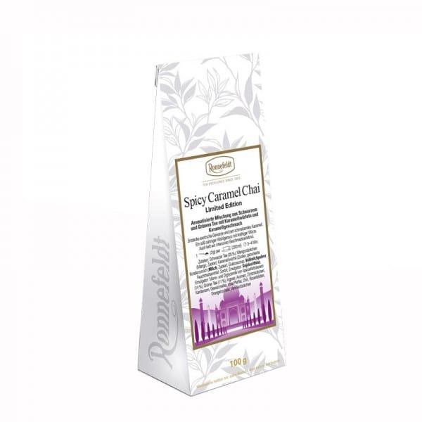 Spicy Caramel Chai aromatisierter Gewürztee 100g