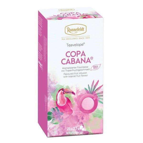 Copa Cabana Bio aromat. Früchtetee 25 Teebeutel 62,5g