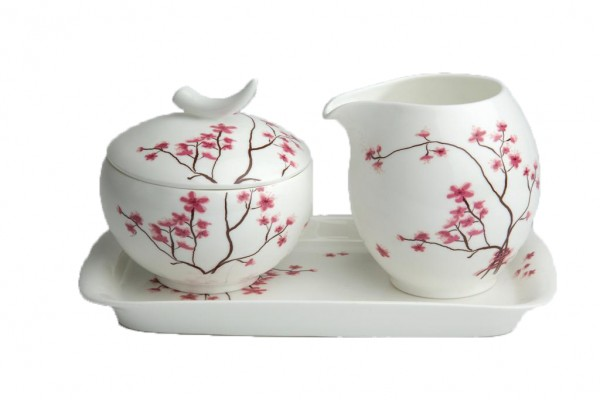 TeaLogic Cup and Saucer Cherry Blossom