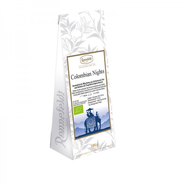 Colombian Nights Bio schwarzer Tee 100g