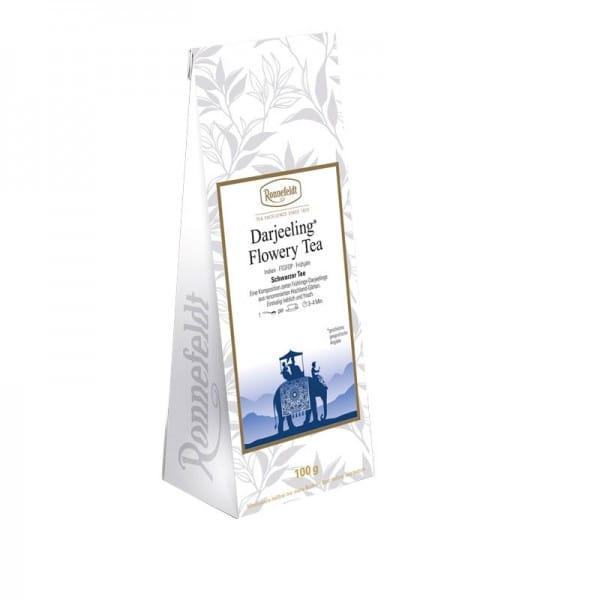 Darjeeling Flowery Tea schwarzer Tee aus Indien 100g