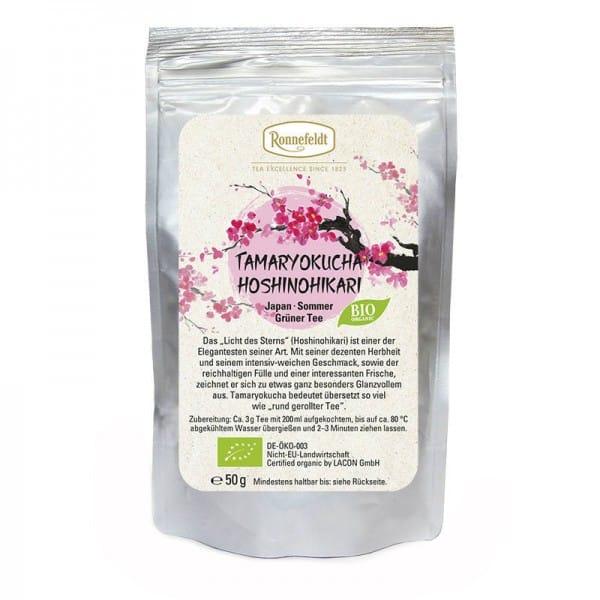 Tamaryokucha Hoshinohikari Bio grüner Tee aus Japan 50g