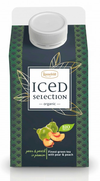 Iced Selection Pear & Peach to-go 500ml