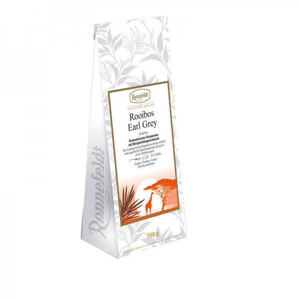 Rooibos Earl Grey aromat. Kräutertee 100g