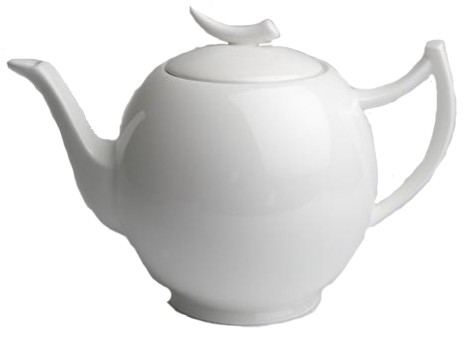 Teekanne Epsilon 1,0l weiß