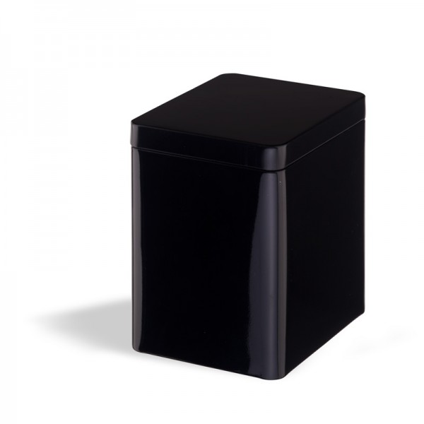 Tea Box with Slip Lid - schwarz