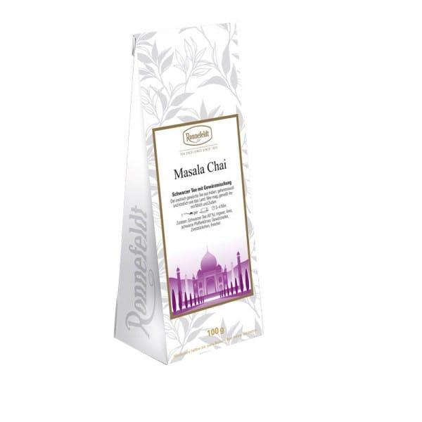 Masala Chai schwarzer Tee mit Gewürzen 100g